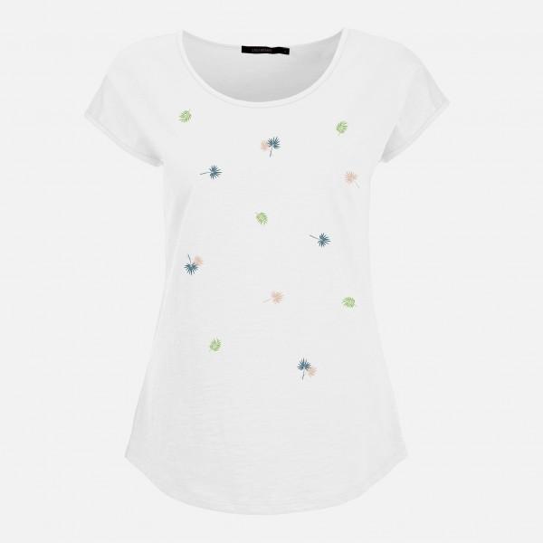 Damen kurzarm Shirt Tropical