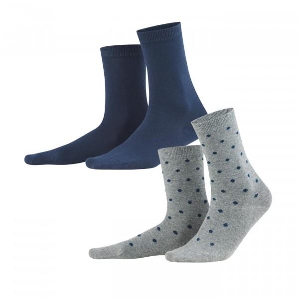 Damen Socken Bio- Baumwolle