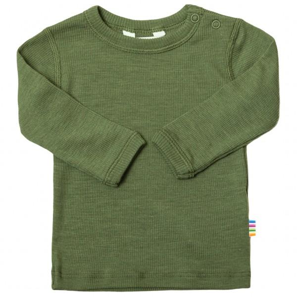 Feinripp Pullover Wolle- Seide