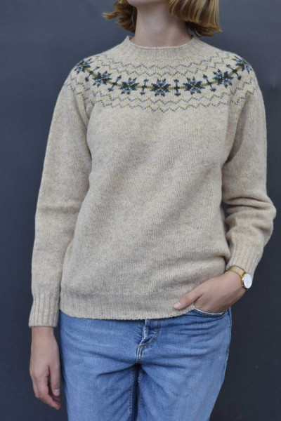 Damen Norwegerpullover