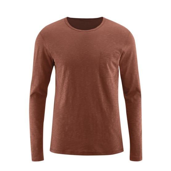 Herren Basic langarm Shirt