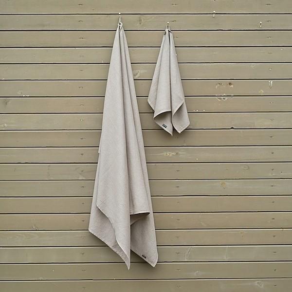 Leinen Badehandtuch 65x 131cm