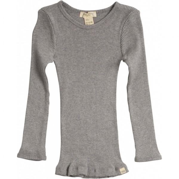 Kinder Seiden-Shirt langarm