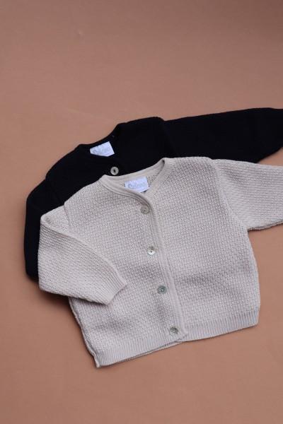 Babyjacke Muster Bio- Baumwolle