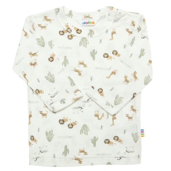 Langarm Shirt Bambus Safari