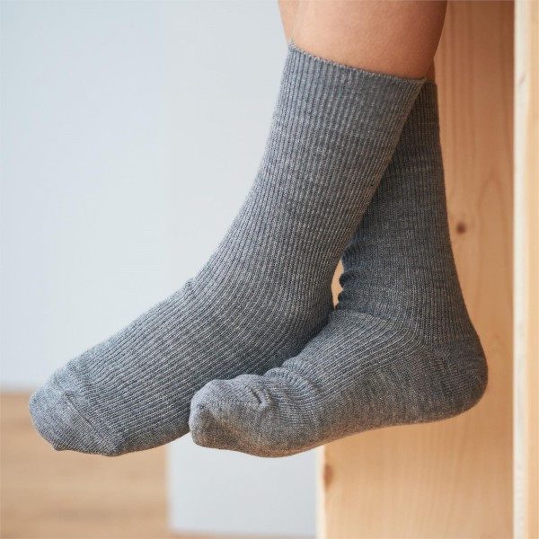 Socken Baumwolle- Wolle