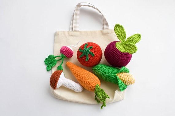 Häkel Gemüse