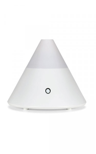 Aromavernebler Pyramide weiß 15 x 13cm