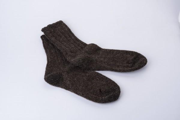 Wollsocken 100% Schurwolle verstärkt