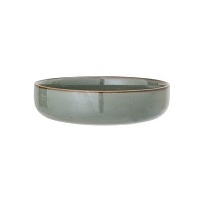 Flache Keramik Schale
