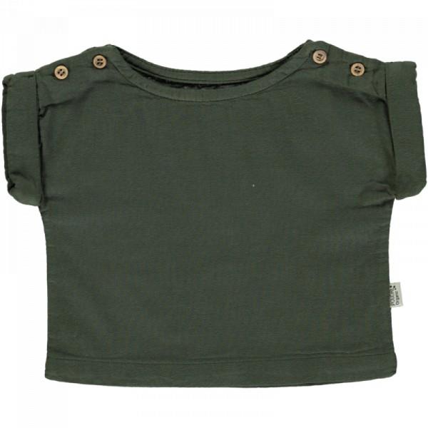 Musselin Shirt kurzarm